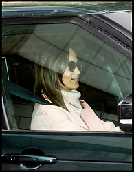 April 24, 2018 - London, London, United Kingdom - Royal Baby visitors. Catherine, The Duchess of Cambridge, sister Pippa Middleton leaving Kensington Place after visiting her sister and her baby boy. (Credit Image: © i-Images via ZUMA Press)