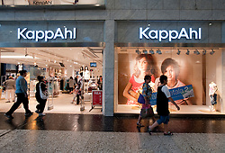 KappAhl store in Nordstan shopping mall in Gothenburg Sweden