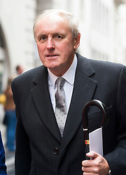 © London News Pictures. 05/03/2016. London, UK. Daily Mail editor PAUL DACRE attends a ceremony to mark the wedding of Rupert Murdoch and Jerry Hall held at St Brides Church on Fleet Street,  central London on February 05, 2016. . Photo credit: Ben Cawthra /LNP