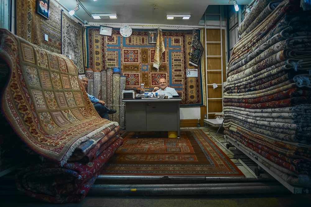 """Persian carpets were traditionally woven by nomadic tribes, they reflect the history of Iran and its various peoples. In 2010, the """"traditional skills of carpet weaving"""" in Fārs and Kashan were inscribed to the UNESCO Intangible Cultural Heritage Lists."""