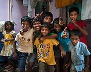 Dharavi Slum, Mumbai, India