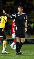 Photo: Mark Stephenson/Richard Lane Photography.<br /> Watford v Charlton Althetic. Coca Cola Championship. 19/01/2008. Referee Mr A Marriner