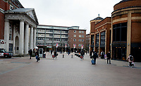 Coventry is like a ghost town on the day Coventry University said it will suspend face-to-face teaching on Friday (March 20) to try and protect staff, students and the wider population from the spread of Covid-19 photo by Mark Anton Smith