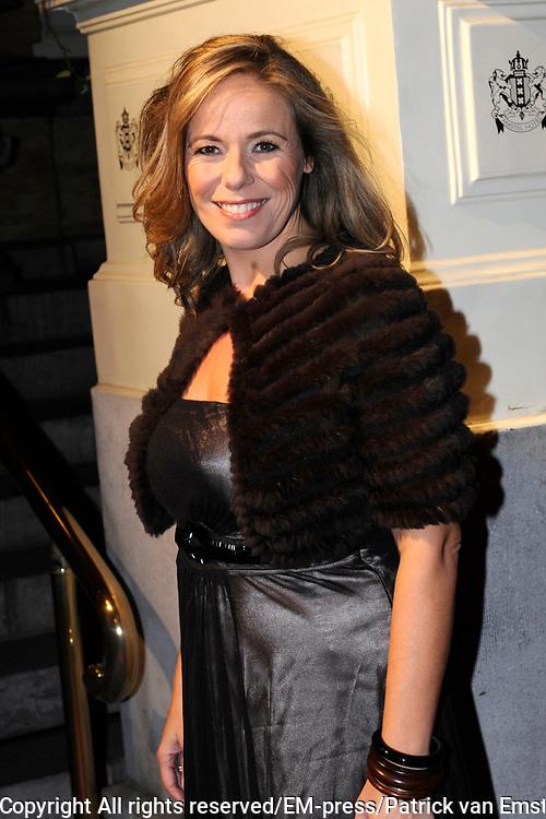 Uitreiking Beau Monde Awards in het Amstel Hotel, Amsterdam.<br /> <br /> Op de foto:  Selma van Dijk