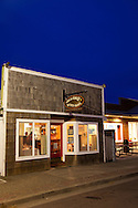 Alloro Restaurant, a fine dining restaurant located in Old Town Bandon, Oregon.