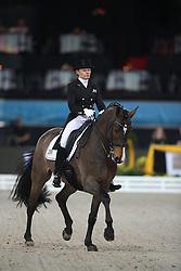 Krinke-Susmelj Marcela, (SUI), Smeyers Molberg<br /> Grand Prix Dressage<br /> Stuttgart - German Masters 2015<br /> © Hippo Foto - Stefan Lafrentz