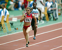 Friidrett, 23. august 2003, VM Paris,( World Championschip in Athletics),  Yuliya Tabakova, Russland