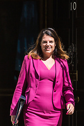 London, UK. 16 July, 2019. Caroline Nokes MP, Secretary of State for Immigration, leaves 10 Downing Street following a Cabinet meeting.