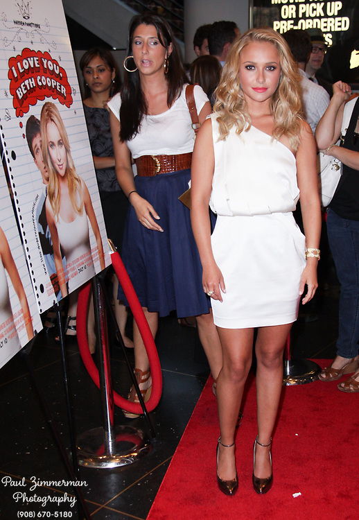 """7 June 2009 - New York, NY - Hayden Panettiere. Seventeen Magazine and Hayden Panettiere host a screening of the new movie """"I Love You Beth Cooper"""" Photo Credit: Paul Zimmerman/AdMedia"""