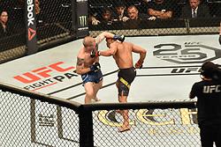 September 22, 2018 - SãO Paulo, Brazil - SÃO PAULO, SP - 22.09.2018: UFC FIGHT NIGHT MARRETA X ANDERS - Francisco Trinaldo (BRA) X Evan Dunham (USA) at UFC Fight Night Marreta X Anders, this Saturday, (22) in São Paulo. (Credit Image: © Roberto Casimiro/Fotoarena via ZUMA Press)