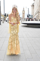 Miss England KIRSTY HESLEWOOD at the Soldiering On Awards held at the Park Plaza Hotel, Westminster Bridge, London on 5th April 2014.