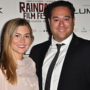 Director Richard Raymond and guest attends the Raindance Opening Gala 2018 held at Vue West End, Leicester Square on September 26, 2018 in London, England.