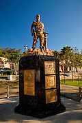Memorial to Puerto Rican soldiers who fought in the Vietnam War Yauco, Puerto Rico