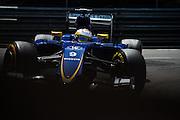 May 20-24, 2015: Monaco Grand Prix: Marcus Ericsson, Sauber Ferrari