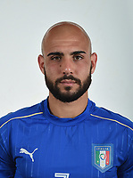 FLORENCE, ITALY - JUNE 01:  Simone Zaza of Italy poses for a photo ahead of the UEFA Euro 2016 at Coverciano on June 1, 2016 in Florence, Italy.  Foto Claudio Villa/FIGC Press Office/Insidefoto