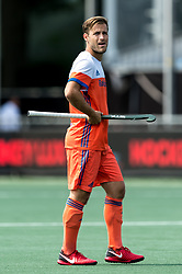 Jeroen Hertzberger of The Netherlands during the Champions Trophy match between the Netherlands and India on the fields of BH&BC Breda on June 30, 2018 in Breda, the Netherlands