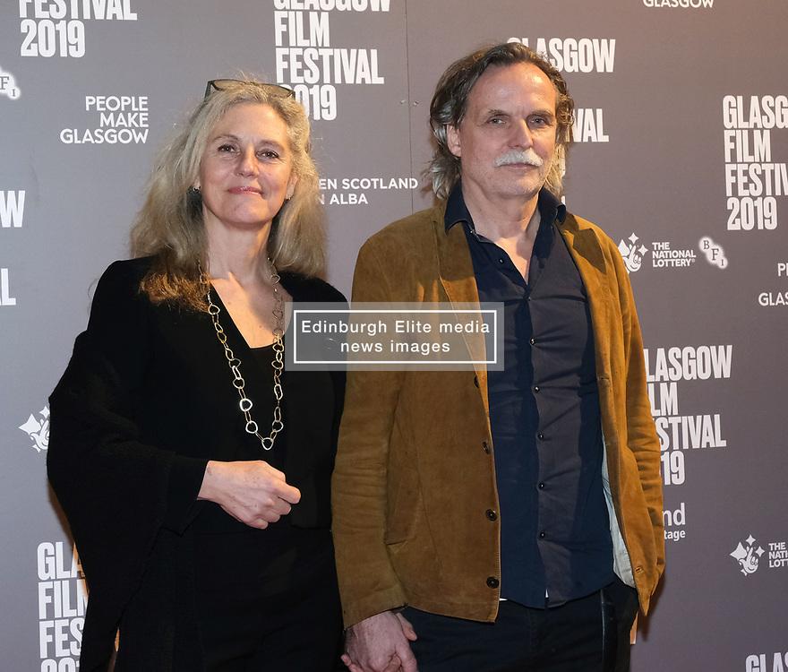 Glasgow Film Festival 2019<br /> <br /> The UK Premiere of The Vanishing<br /> <br /> Pictured: Director Kristoffer Nyholm and Charlotte sieling<br /> <br /> (c) Aimee Todd | Edinburgh Elite media