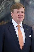Staatsbezoek aan Luxemburg dag 1 / State visit to Luxembourg day 1<br /> <br /> Op de foto / On the photo: Officiele foto in het Palais Grand-Ducal met Koning Willem Alexander e / Official photo at the Palais Grand-Ducal with King Willem Alexander