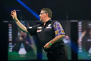 Gary Anderson during the PDC Premier League Darts Night 11 at Marshall Arena, Milton Keynes, United Kingdom on 6 May 2021.
