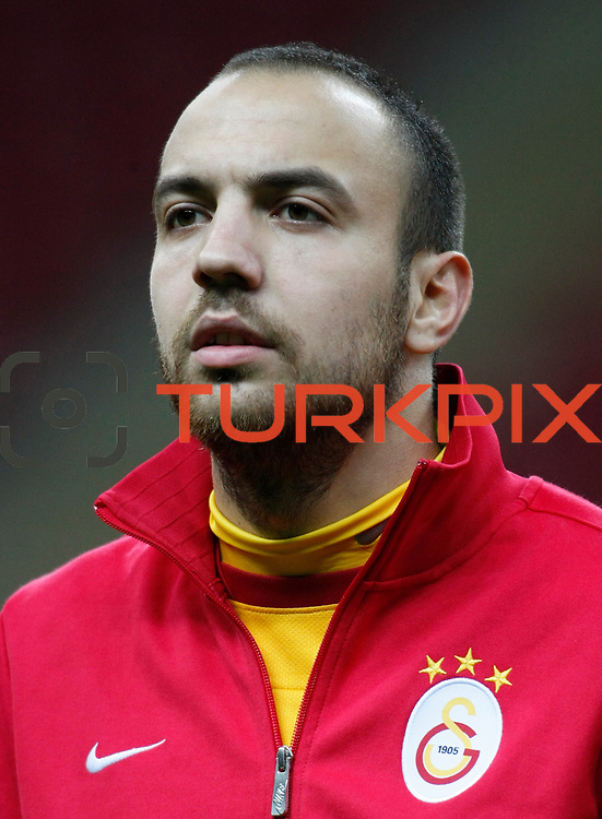 Galatasaray's Sercan Yildirim during their Turkey Cup matchday 3 soccer match Galatasaray between AdanaDemirspor at the Turk Telekom Arena at Aslantepe in Istanbul Turkey on Tuesday 10 January 2012. Photo by TURKPIX
