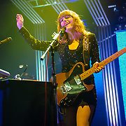 COLUMBIA, MD - June 18th, 2013 - Jenny Lewis of the Postal Service performs at Merriweather Post Pavilion in Columbia, MD on their 10th Anniversary Give Up tour. (Photo by Kyle Gustafson)