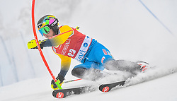 13.11.2016, Black Race Course, Levi, FIN, FIS Weltcup Ski Alpin, Levi, Salalom, Herren, 1. Lauf, im Bild Jens Byggmark (SWE) // Jens Byggmark of Sweden in action during 1st run of mens Slalom of FIS ski alpine world cup at the Black Race Course in Levi, Finland on 2016/11/13. EXPA Pictures © 2016, PhotoCredit: EXPA/ Nisse Schmidt<br /> <br /> *****ATTENTION - OUT of SWE*****