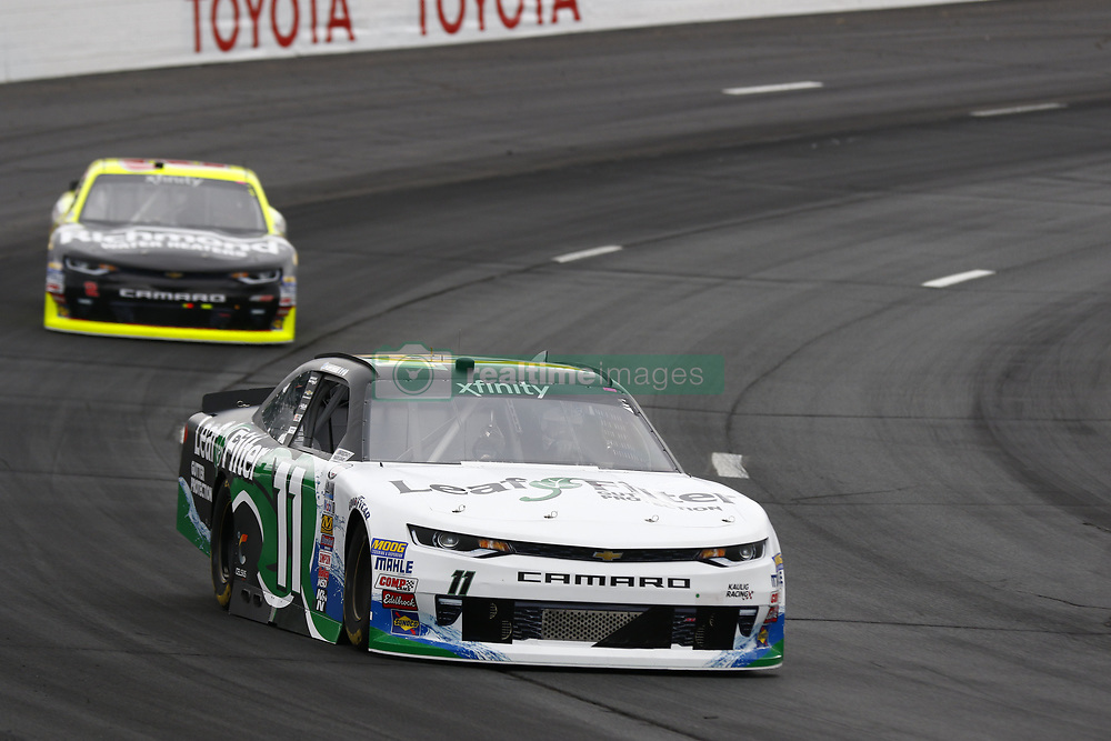 July 14, 2017 - Loudon, NH, United States of America - July 14, 2017 - Loudon, NH, USA: Blake Koch (11) takes to the track to practice for the Overton's 200 at New Hampshire Motor Speedway in Loudon, NH. (Credit Image: © Justin R. Noe Asp Inc/ASP via ZUMA Wire)