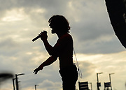No More performs at St. Joseph's Health at Lakeview Ampitheater during the New York State Fair in Syracuse, N.Y., Thursday, August 22, 2018.