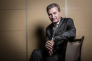 Brussels Belgium  8 November 2016 Portrait of mister Gunther Oettinger European Commissioner for Digital Economy & Society