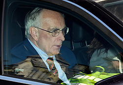 © Licensed to London News Pictures. 11/04/2019. London, UK. PETER BONE MP is seen leaving Parliament following a statement by Prime Minster Theresa May. The British PM was last night granted an extension to the date the UK will leave the EU, until October 31st of this year. Photo credit: Ben Cawthra/LNP