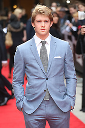March 20, 2016 - London, England - Joe Alwyn attends the Jameson Empire Awards 2016 at The Grosvenor House Hotel on March 20, 2016 in London, England  (Credit Image: © Famous/Ace Pictures via ZUMA Press)