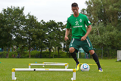 05.07.2011, An der Muehle, Norderney, GER, 1.FBL, Trainingslager Werder Bremen, im Bild Reha Aufbautraining Sandro Wagner (Bremen #19).  // during trainingsession from Werder Bremen 2011/07/03    EXPA Pictures © 2011, PhotoCredit: EXPA/ nph/  Kokenge       ****** out of GER / CRO  / BEL ******