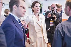 May 29, 2017 - Prince Daniel, crown princess Victoria .Official visit from Denmark, Liveable Scandinavia, Münchenbryggeriet, Stockholm, 2017-05-29.(c) Ola Axman / IBL..Officiellt besök frÃ¥n Kronprinsparet av Danmark, Liveable Scandinavia, Münchenbryggeriet, Stockholm, 2017-05-29 (Credit Image: © Ola Axman/IBL via ZUMA Press)