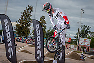 #125 (DEMONT Jonathan) SUI at the 2016 UCI BMX Supercross World Cup in Santiago del Estero, Argentina