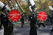 New York, NY-November 23: A Marching Band attends the 91st Annual Macy's Thanksgiving Day Parade on November 23, 2017 held in New York City Credit: (Photo by Terrence Jennings/terrencejennings.com)