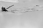 "ackroyd-00758-234. ""Railroad siding to Alcoa""  Vancouver Washington. Flood. May 30, 1948"