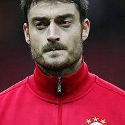 Galatasaray's Albert Riera Ortega during their Turkey Cup matchday 3 soccer match Galatasaray between AdanaDemirspor at the Turk Telekom Arena at Aslantepe in Istanbul Turkey on Tuesday 10 January 2012. Photo by TURKPIX