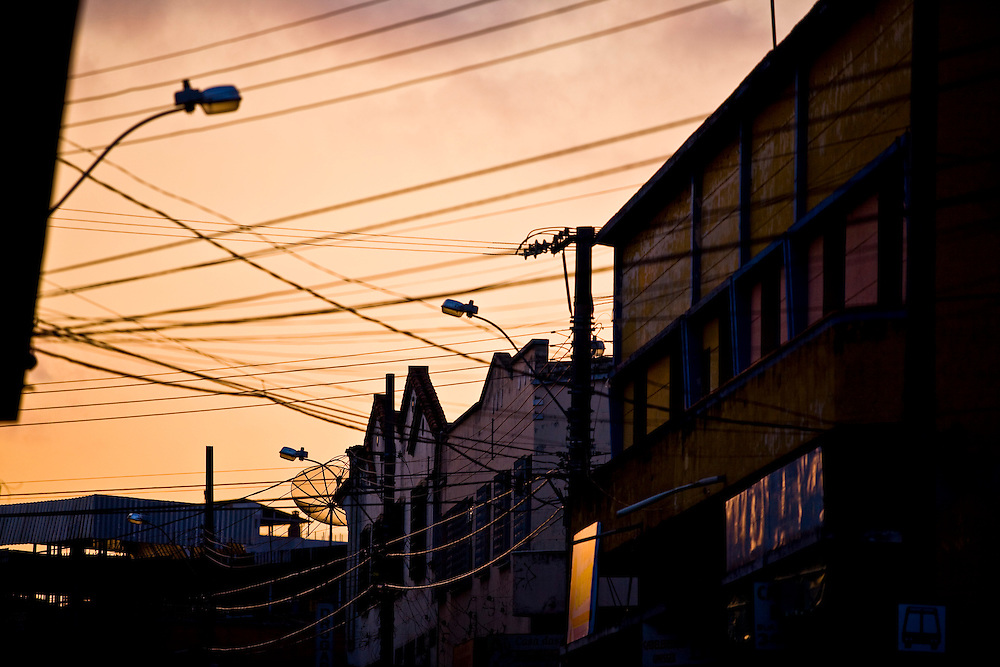 Belo Horizonte_MG, Brasil...Por-do-sol no Bairro da Graca em Belo Horizonte...The sunset in Graca neighborhood in Belo Horizonte...Foto: JOAO MARCOS ROSA / NITRO