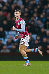 Jack Grealish of Aston Villa - Mandatory byline: Rogan Thomson/JMP - 13/12/2015 - FOOTBALL - Villa Park Stadium - Birmingham, England - Aston Villa v Arsenal - Barclays Premier League.
