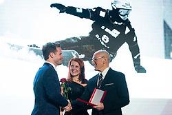 Tim Mastnak at 55th Annual Awards of Stanko Bloudek for sports achievements in Slovenia in year 2018 on February 4, 2020 in Brdo Congress Center, Kranj , Slovenia. Photo by Grega Valancic / Sportida