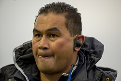 December 3, 2016 - Galway, Ireland - Pat Lam Head Coach of Connacht pictured before the Guinness PRO12 Round 10 match between Connacht Rugby and Benetton Treviso at the Sportsground in Galway, Ireland on December 3, 2016  (Credit Image: © Andrew Surma/NurPhoto via ZUMA Press)