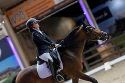 Hermans Angelina, BEL, Valerion<br /> Belgisch Kampioenschap Dressuur<br /> Azelhof - Lier 2020<br /> © Hippo Foto - Dirk Caremans<br /> 02/10/2020