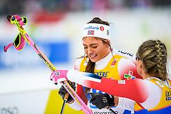 February 21, 2019 - Seefeld In Tirol, AUSTRIA - 190221 Kristine StavÅ's Skistad of Norway looks dejected after competing in women's cross-country skiing sprint semi final during the FIS Nordic World Ski Championships on February 21, 2019 in Seefeld in Tirol..Photo: Joel Marklund / BILDBYRN / kod JM / 87879 (Credit Image: © Joel Marklund/Bildbyran via ZUMA Press)