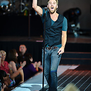 Washington, D.C. - July 10th, 2010:  Lady Antebellum open for Tim McGraw at Jiffy Lube Live as part of McGraw's Southern Voice tour. (Photo by Kyle Gustafson/For The Washington Post)