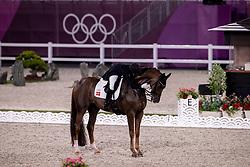 Dufour Cathrine, DEN, Bohemian, 118<br /> Olympic Games Tokyo 2021<br /> © Hippo Foto - Dirk Caremans<br /> 28/07/2021