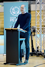 The Duke of Cambridge speaking at City for Peace ceremony - 22 Nov 2018