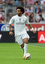 04.08.2015, Allianz Arena, Muenchen, GER, AUDI CUP, Real Madrid vs Tottenham Hotspur, im Bild Marcelo (Real Madrid) // during the 2015 AUDI Cup Match between Real Madrid and Tottenham Hotspur at the Allianz Arena in Muenchen, Germany on 2015/08/04. EXPA Pictures © 2015, PhotoCredit: EXPA/ Eibner-Pressefoto/ Stuetzle<br /> <br /> *****ATTENTION - OUT of GER*****