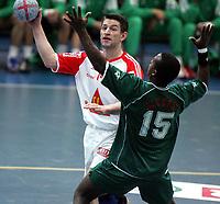 Håndball, Stavanger, Elfag Cup, 16/01-05,<br /> Algerie - Sveits,<br /> Robbie Kosadmovich,<br /> Foto: Sigbjørn Andreas Hofsmo, Digitalsport