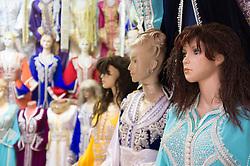 Mannequins and women's clothing, Fes al Bali medina, Fes, Morocco