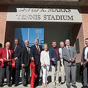 Marks Tennis Stadium Dedication